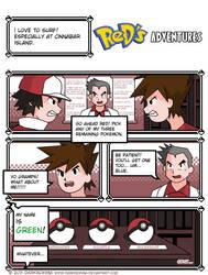 Red's 1st Pokemon: Pg. 1 by DarkRoxima