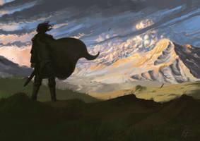 Aragon's Gondor by Nequarilj