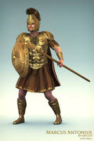 Marcus Antonius: Hail Roma! by Alexlo