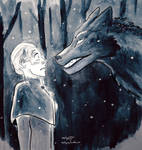 Wolf and the Woman by EnjoliqueJ