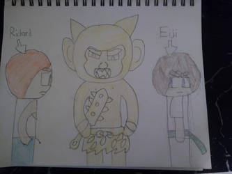 Eiji Meets Richard Dragon by marcusderjr
