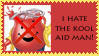i hate the kool aid man stamp by sasukelover
