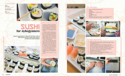 Magazine spread - May 2 by Anjet