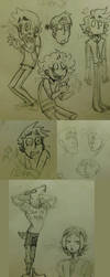 November Sketch/Doodle Comp by CoffeeSnake