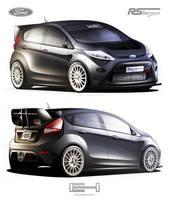 Ford Fiesta RS B by emrEHusmen