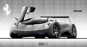 Ferrari FX40 by emrEHusmen