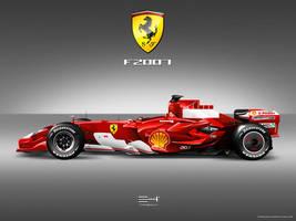 Ferrari F2007 by emrEHusmen