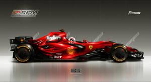 Ferrari F2008 by emrEHusmen