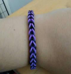 Loom Band Bracelet by Natt2004