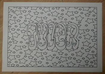 Tyler Design Lineart by Natt2004