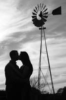 Kiss by the Windmill by jennytaylor
