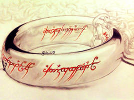 The One Ring by GabrielleC-Drawings