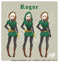Design - Rogue by riotfaerie