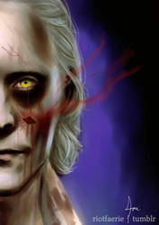 Thomas Sharpe - Beware of the Crimson Ghost  by riotfaerie