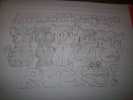 ThunderClan: Apprenticeship ROCKS!! by IndigoCascade