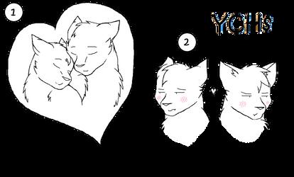 Feline Valentine YCHs OPEN by IndigoCascade