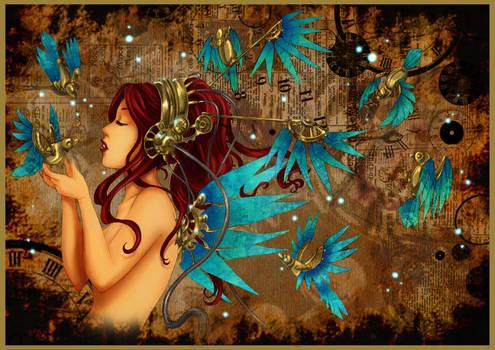 - Mechanical Wings II - by ooneithoo