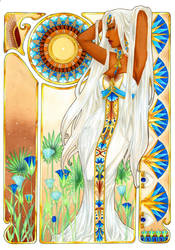 - Art Nouveau - Meno - by ooneithoo