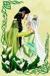 - Niluviel and Nelyaeth - by ooneithoo