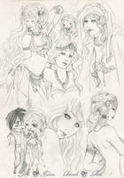 - COMMISSION - Sketchpage Leirys - by ooneithoo