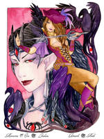- The Dragon Queen and The Red Raven  - by ooneithoo