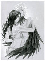 - COMMISSION - Esmee and Liyu by ooneithoo