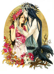 - COMMISSION - Persephone and Hades by ooneithoo