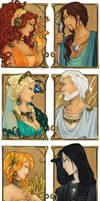 - Greek Gods I - by ooneithoo