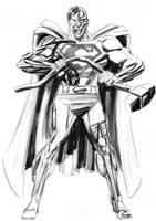 Cyborg Superman by kevhopgood