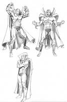 Mr. Miracle Thumbnails by kevhopgood