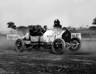 Racer #33, Laurel, Md. June, 1912 by NJDVINTAGE