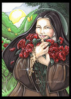 Laughing Saint Therese by natamon
