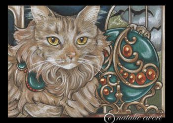 Bejeweled Cat 42 by natamon