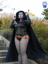 Raven from TeenTitans at the ComicCon in Berlin 20 by Chibi-Evee