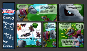 TFA-Dinobot Rule 1 by rosa-pegasus