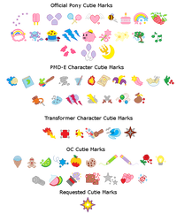 MLP-Cutie Mark Collection by rosa-pegasus