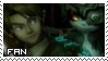 Link and Midna Stamp by rosa-pegasus