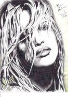 Pamela Anderson Sketch by Buachall