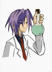 Ienzo The Scientist by Ryugexu