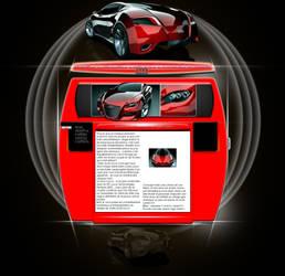 Webdesign (Fake) Audi by amanwithoutmind