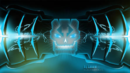 SKULL hightech by amanwithoutmind