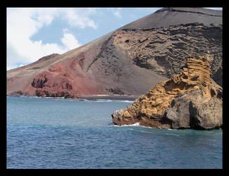 El Golfo beach - Lanzarote by bigua