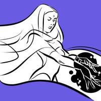 Raven la hechicera by Sofia-