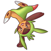 #1 Chespin by pika-chan2000