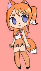 Fox Girl Adopt NAME YOUR PRICE OPEN by Snowette18