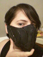 Nightingale Mask by wolfgirl76543