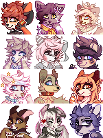 Headshot Icons by miruuko