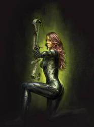 Female Archer by vshen