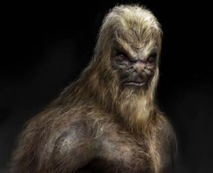 Alien Ape by vshen