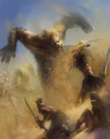 Desert Attack by vshen